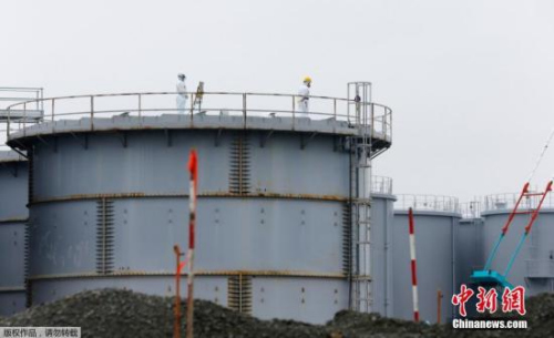 材料图:福岛核电站