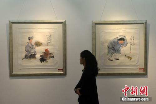 高继文师生中国画联展在福州画院开展(图)