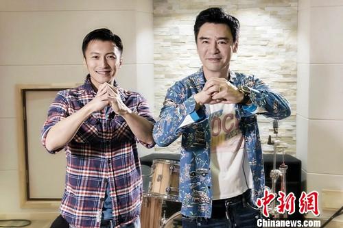 谢霆锋钟镇涛携手演绎《决战食神》主题曲