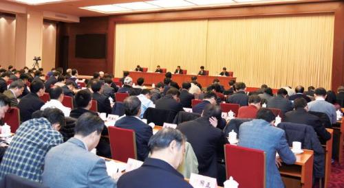 1月10日~11日,环境保护部在京召开2017年全国环境保护工作会议。中国环境报记者邓佳摄