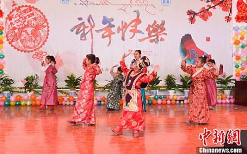 新春见闻:西藏拉萨SOS儿童村的团聚大联欢