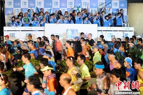 香港马拉松举行:埃塞俄比亚选手成大赢家