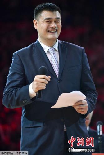 资料图:姚明即将成为中国篮协掌门?