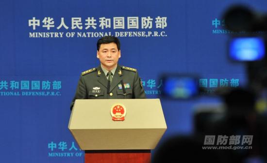 """国防部谈""""萨德""""问题:中国军队将做好必要准备"""