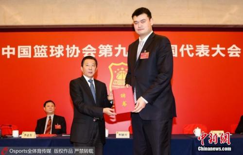 """从""""姚主席""""首秀管窥中国篮球未来:男女篮复兴可期"""