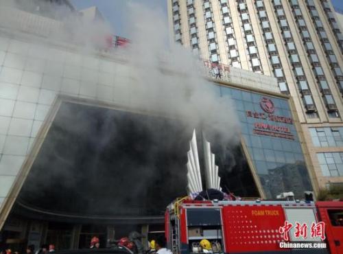 """南昌KTV""""2·25""""重大火灾事故:过火面积达1500平方米"""