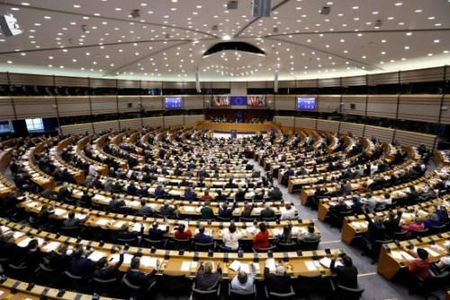 资料图:欧盟议会。