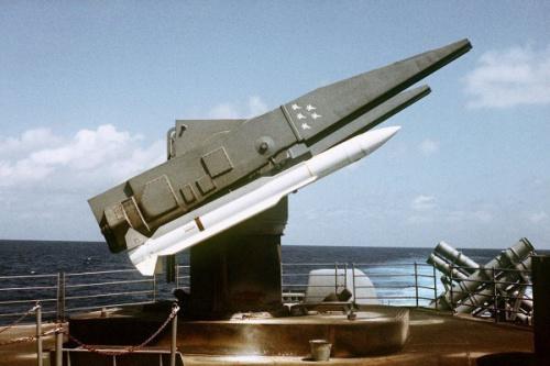 标准二型防空飞弹是美军现役装备。(图片来源:台湾《联合报》)