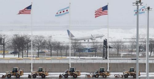 西部高温东部暴雪 美国三月冰火两重天