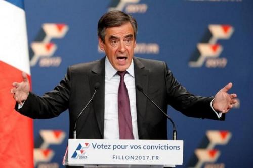 """法国中右翼候选人菲永因""""空饷门""""被正式立案审查"""