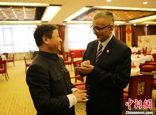中国驻哈大使馆举办哈萨克族侨胞纳乌鲁斯节招