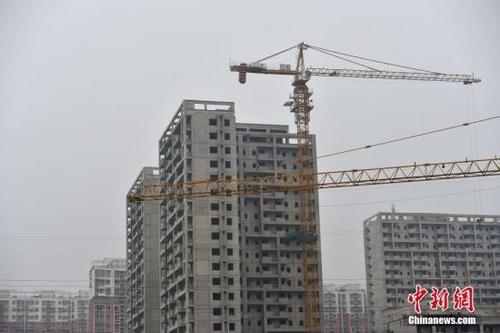 北京郭公庄一期正在建设中的公租房项目。<a target='_blank' href='http://www.chinanews.com/' >中新网</a>记者 金硕 摄