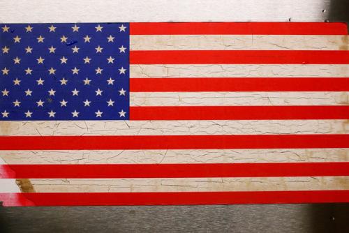 资料图:美国国旗