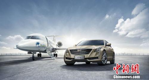新美式科技旗舰凯迪拉克CT6全新发布博鳌金色限量版车型
