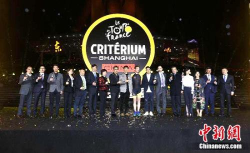雅居乐25周年引入环法自行车赛 知名赛事首登中国