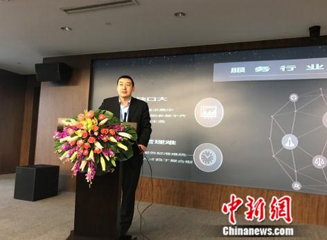 苏宁帮客副总经理李福全介绍帮客蓝狮技术人才平台