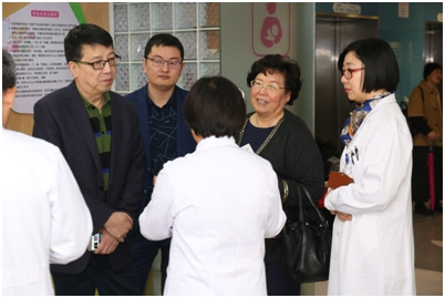 中国母乳库推广项目组参观上海市儿童医院母乳库