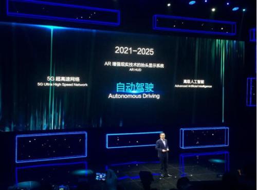 2021-2025年实现全自动驾驶
