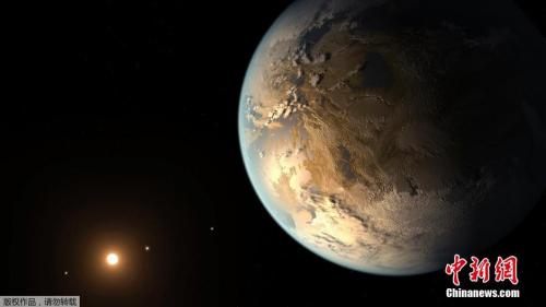 """天文学家首次在""""类地球""""系外行星上发现大气层"""