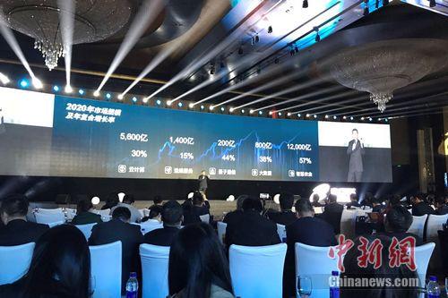 神州信息4月12日在北京举行2017战略发布会。 程春雨 摄