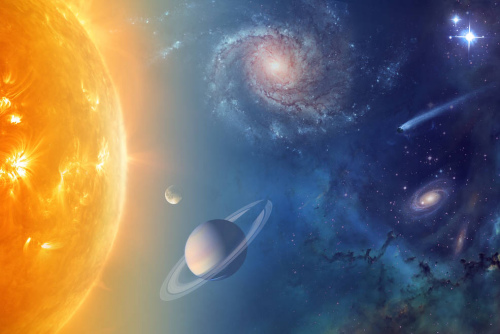 美国宇航局对太阳系中拥有海洋的星球进行探测。(图片来源:NASA)