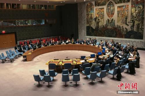 资料图:2016年11月30日,联合国安理会在纽约联合国总部一致通过决议,要求朝鲜放弃核武器和导弹计划。