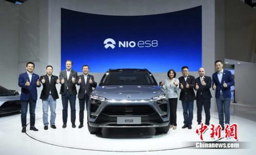 蔚来携11辆车中国首秀 最新量产车ES8首度亮相