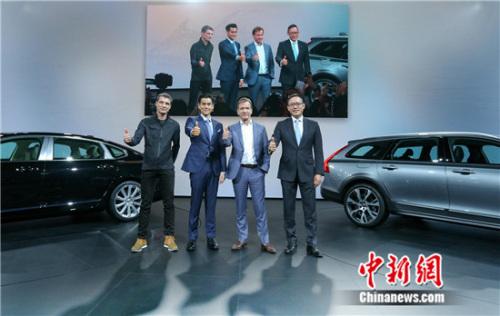 全新V90 Cross Country上海车展上市 售价47.98万起