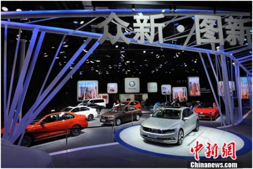 一汽-大众携全系车型亮相上海车展 蔚领无疆版首秀
