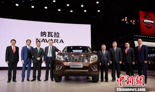 郑州日产纳瓦拉亮相上海车展 定义高端SUV级皮卡