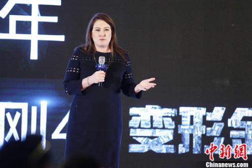 派拉蒙影片公司全球市场营销及发行总裁Megan Colligan女士