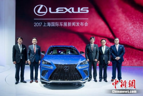 LEXUS雷克萨斯亮相上海车展 新NX中型豪华SUV全球首发