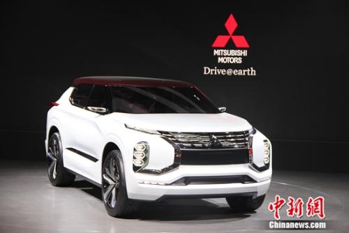 三菱GT-PHEV Concept上海国际车展首发亮相