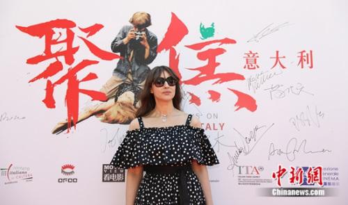 莫妮卡・贝鲁奇现身北京 盼与中国电影合作(图)