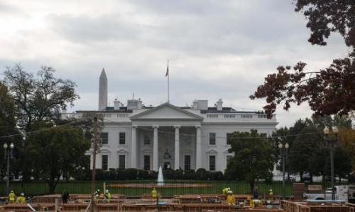 资料图:白宫