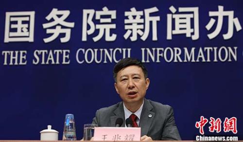 中国载人航天工程办公室主任王兆耀。 中新社记者 杨可佳 摄