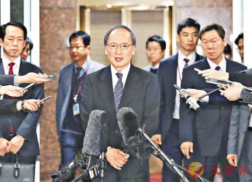 日本大使返韩后首会韩外长 促撤走慰安妇少女像