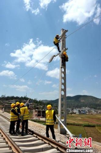 中缅国际通道广大铁路完成投资超八成 预计2018年开通