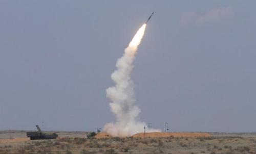 资料图:导弹发射。(图片来源:路透社)
