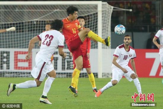 国足重返世界杯还需靠自己 图片来源:视觉中国