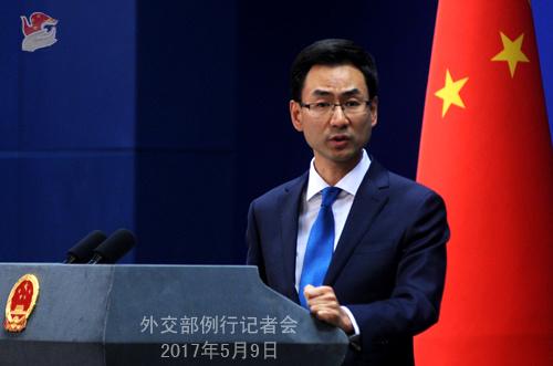 """外交部:朝鲜将派官方代表团出席""""一带一路""""论坛"""