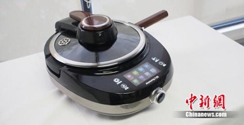 为爱下厨 九阳智能炒菜机器人J7评测