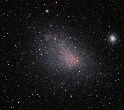 小麦哲伦星云高清图纤毫毕现 囊括数百万恒星(图)