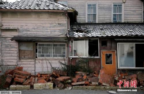 资料图:福岛灾区