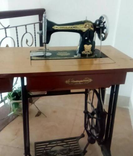 图为网友@昨日Mr妈妈的缝纫机