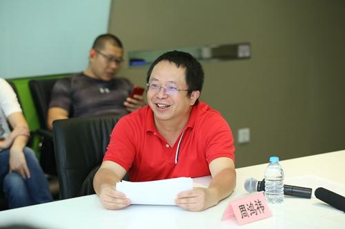360集团董事长兼CEO周鸿�t。360供图