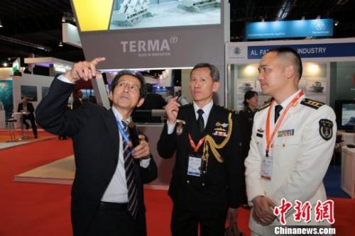 """12家珠海企业组团参加新加坡""""亚洲国际海事防务展"""""""