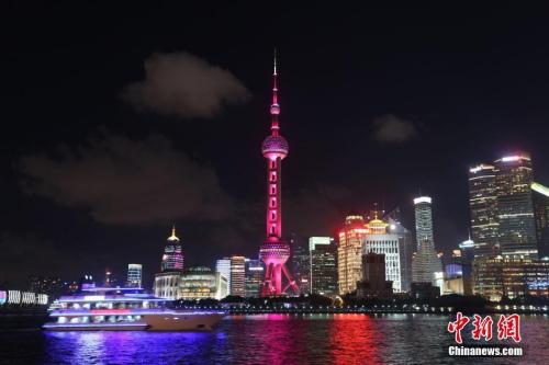 资料图:上海东方明珠电视塔。中新社记者 张亨伟 摄