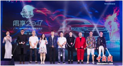 全民K歌大赛华北区半决赛选手合影