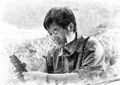 2011年,张江永在广东省三水盆地采集始新世鱼化石。(图片由受访者提供)